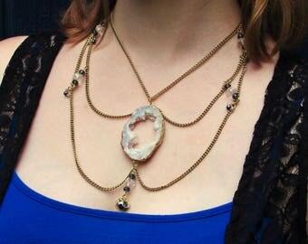 Morning Light Crystal Necklace