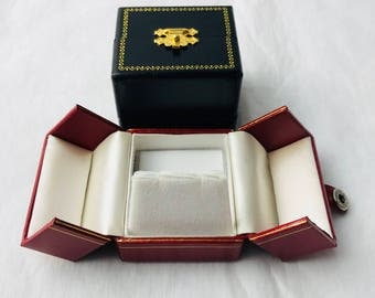 Earring Deluxe Snap- Tab Leatherette Boxes