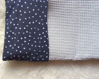 Baby blankets/babyblankets: 70 to 100 cm with waffle cotton!