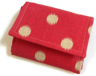 Small womens wallet, small wallet, pocket wallet,accordion wallet