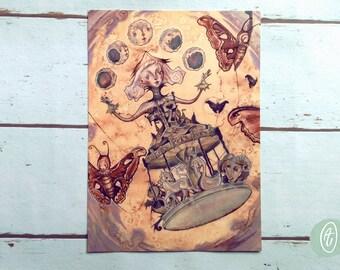 Art Print - 'Carousel Flight'
