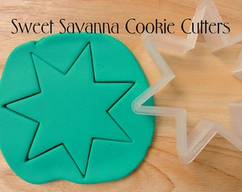 Star Cookie Cutters - 7 point star