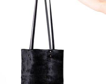 Enyi Leather Tote Bag