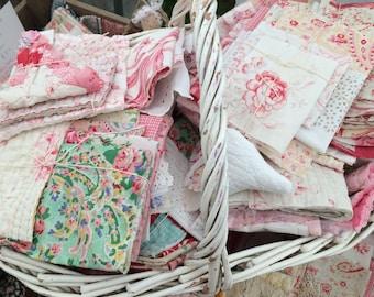 Scrap pack bundles quilt fabric pieces 70 x 50 cms area coverage