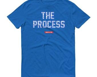 Joel Embiid, Phily Basketball T shirt, The Process Short-Sleeve T-Shirt, Philadelphia Basketball fan gift