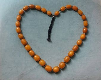Bakelite necklace.