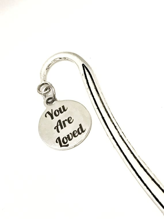 Love Gifts, You Are Loved Bookmark, Reader Gifts, Wife Gifts, Daughter Love Gifts, Wife Love Gifts, Christian Love Gift, God Loves You