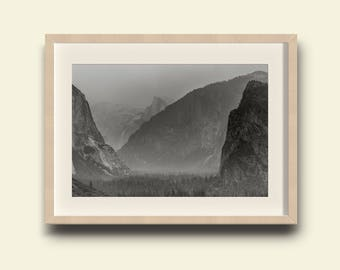 Yosemite Valley, Vintage, Tunnel View // Yosemite National Park