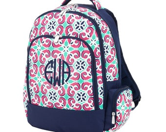 Mia Tile Backpack - Monogram Included!