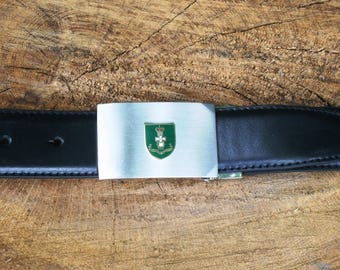 Green Howards Design Belt and Buckle Set Ideal Military Gift ME40