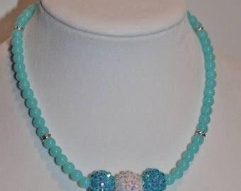Semi-Annual SALE Children's Jewelry Frozen Inspired Necklace