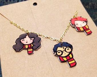 Golden Trio Necklace