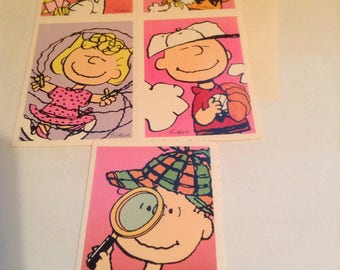 hallmark valentines peanut cards lot of 5 unusedenv - Vintage Valentines Cards