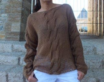Angora sweater,Mohair sweater, Knit sweater, Women sweater, Boho Sweater
