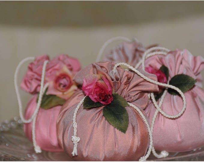 Bride bridesmaid gift favor box