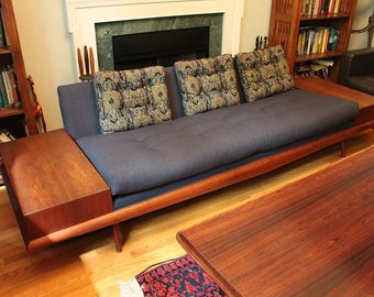 Gorgeous Mid Century Modern Adrian Pearsall Craft Associates Sofa new upholstery