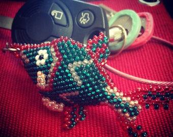 Fish Keychain/Keychains/Keychains/Fish/Accessory/backpack accessory/zipper accessory/gift idea/Guatemala