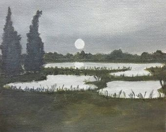 Low Country - Oil Painting