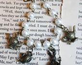Tea Party Lolita Charm Bracelet - Bronze