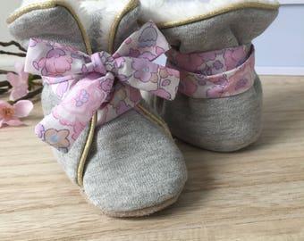Padded liberty Betsy blotter boots