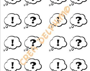 Stiker BULLEX8 conversation bubble sticker