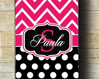 FLASH SALE 30% OFF Pink and Black iPhone Case, Pink Chevron iPhone 5 case, chevron case, iphone case, iphone 7 case, iphone 6 plus case,
