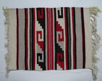 native american woven textile tapestry small wall tapestry rug placemat free shipping