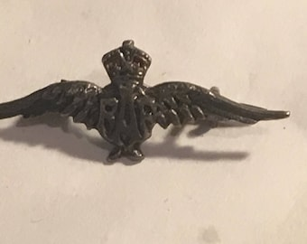 Miniature RAF sweetheart brooch pin