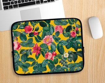 Summer Botanical Laptop Sleeve