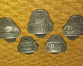 Cast Iron Bottle Openers - (5 Styles to choose from)