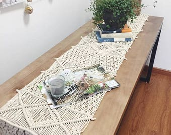 coupon code170701 table runner handmade macrame runner custom size - Floor And Decor Coupon