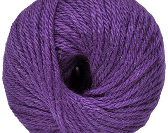 Violet Yarn - 100% Baby Alpaca - Medium - 50 gr./ 109 yd.