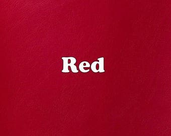 Red Marine Vinyl 9 x 12 Inch Sheet for Sewing and Embroidery