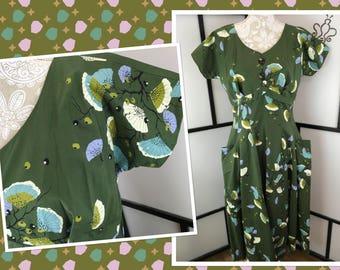 Jomax 1950s Day Dress, Large