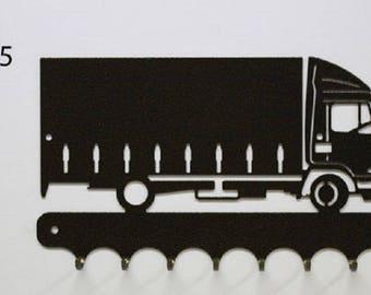 Hangs 26 cm 19T truck metal keys