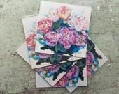 Peony Wreath, Print