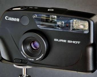 Canon SureShot 28-48mm 35mm Camera Lens Rangefinder Type NiCE !