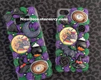 Custom Hocus Pocus decoden whipped cream style handmade phone case
