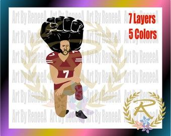 Ck, Kneel, Football (SVG, DXF, EPS, Studio3)