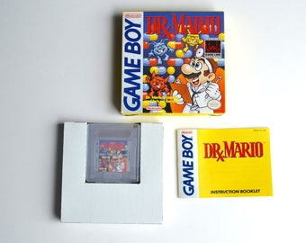 Complete: Dr. Mario For The Original Nintendo Game Boy