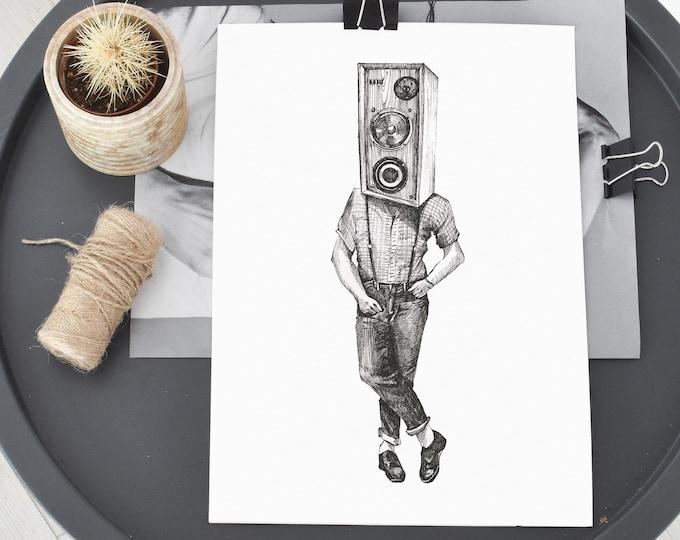 Speaker Print