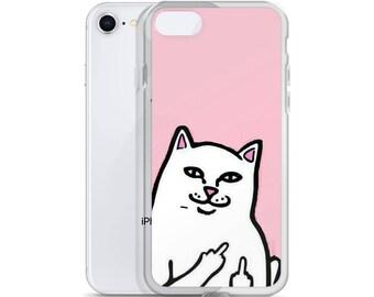 Naughty Cat iPhone Case