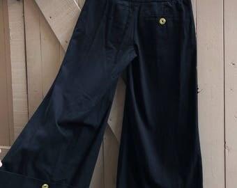 Vintage European Wide Leg Pant
