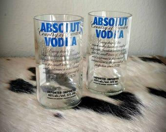 Absolute Vodka Glasses