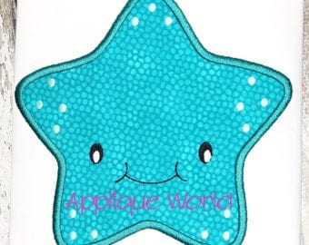 Baby Starfish Applique Embroidery-Instant Digital Download Starfish-Machine Applique Embroidery Starfish-Kid Starfish Pattern-Baby Starfish