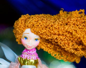 Birthday gift for daughter girls gift girls room decor angel figurine garden gnome friendship Educational toy quiet toys Forest spirit