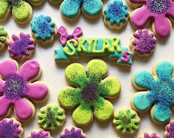 Troll-theme Sugar Cookies