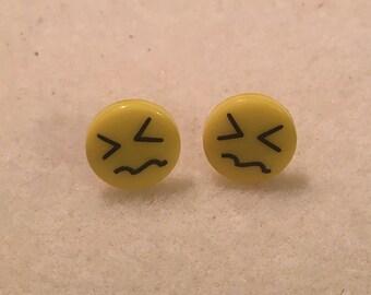 Emoji Stud Earrings