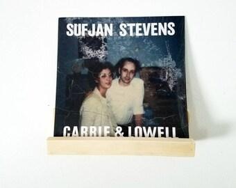 Vinyl Record Holder - Rustic Shelf - Display - Floating Ledge Shelves - Gallery wall shelving