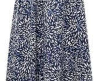 Hipple Boho Handkerchief Hem Digital Print Maxi Dress - SIZE 14 - 16